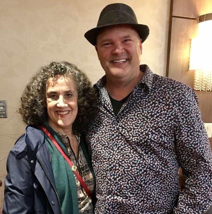 Jeff with Julie Gottman